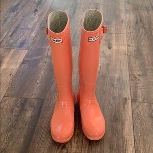 Hunter rain boots 7